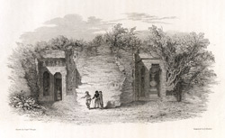 Cave temples of Chandowlee in Malwa